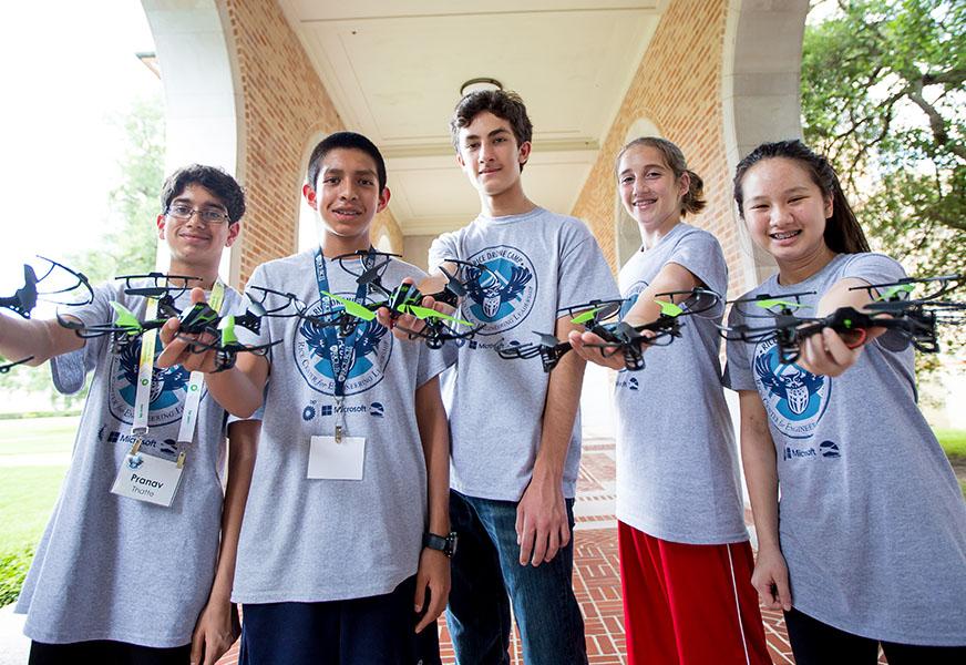 Rice University Drone Camp