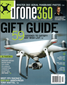 Click here to read Dr. Wright's article in Drone 360 Magazine